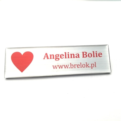 ID badge 70x20mm